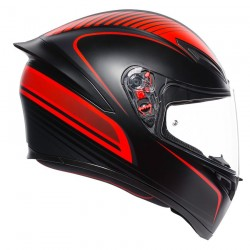 Helmet AGV K1 WARMUP MATT BLACK/RED