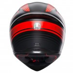 Helmet AGV K1 WARMUP MATT BLACK/RED| BGCarShop.com