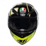 Helmet AGV K1 GOTHIC 46 BLACK | BGCarShop.com