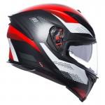AGV K5-S Marble Red Matt helmet | BGCarShop.com