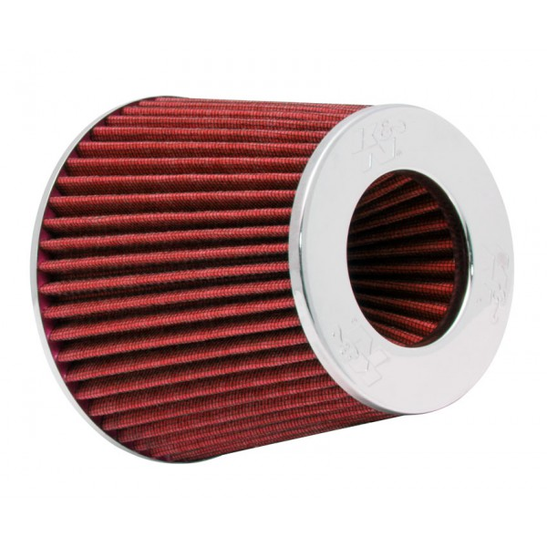 K&N RG-1001RD-L Universal Clamp-On Air Filter | BGCarShop.com