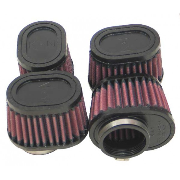 K&N RU-1824 Universal Clamp-On Air Filter | BGCarShop.com