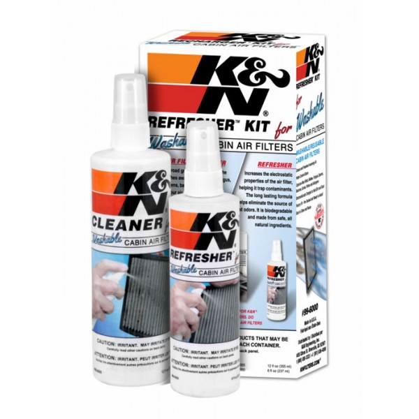 K&N 99-6000 Filter Care Service Kit Aerosol | BGCarShop.com