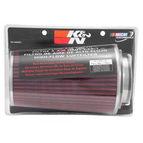 K /& N RG-1002RD Universal Chrome Filter